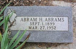 Abram H Abrams