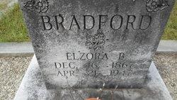 Elzora B. <i>Brand</i> Bradford