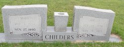 Mary Ina <i>Miller</i> Childers