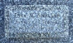 Edna Margaret <i>Stockman</i> Birkland