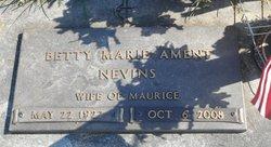 Betty Marie <i>Ament</i> Nevins