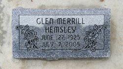 Glen Merrill Hemsley