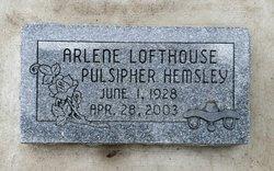 Arlene Lofthouse <i>Pulsipher</i> Hemsley