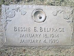 Mrs Betsy Eldora Bessie <i>Reichelt</i> Belfrage