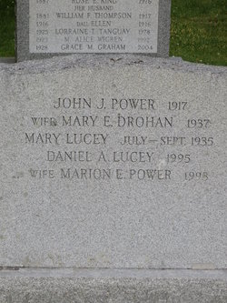 Marion E. <i>Power</i> Lucey