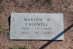 Marion D. Caldwell
