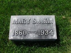 Mary Sophia <i>Benedict</i> Akin