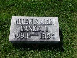Helen S. <i>Akin</i> Haskett