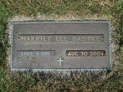 Harriet <i>Shilkaitis</i> Lee Badtke