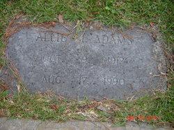 Allie Mae <i>Williams</i> Adams