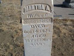 Martha Ann <i>Kinkead</i> Dick