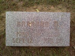 Barbara M. <i>Sauer</i> Athertone