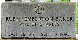 Ruby <i>Pemberton</i> Baker