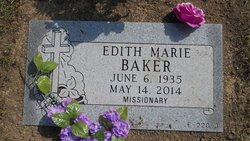 Edith Marie <i>Lambott</i> Baker