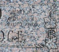 Mary M Aldridge