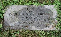 PFC Paul Dennis Abbott