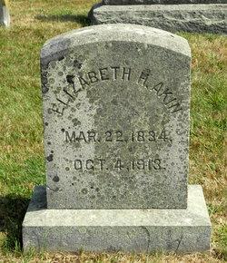 Elizabeth H. <i>Howland</i> Akin