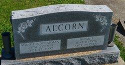 Minnie Beatrice Speakman <i>Alcorn</i> Alcorn