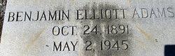 Benjamin Elliott Adams