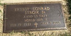 Ernest Conrad Stroik, Sr