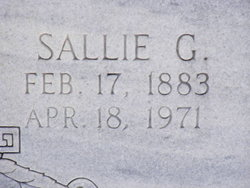 Sallie G Watson