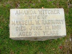 Amanda <i>Witcher</i> Rasbury