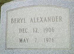 Mrs Beryl Allen Alexander