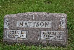 Cora S <i>Bratlien</i> Mattson