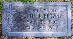 Lottie Lillian <i>Gibson</i> Browne
