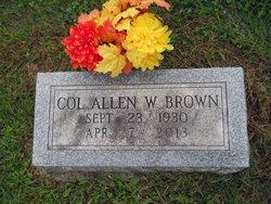 Col Allen W. Brown, Jr