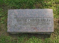 Mattie <i>Griffin</i> Bailey