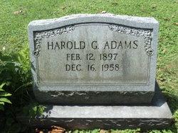 Harold George Adams