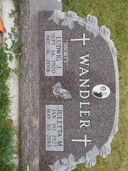 Ludwig John Shorty Wandler