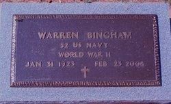 Warren G Bingham