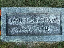 James Edward Ed Adams