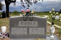 Frank H. Riddle