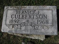 Bernice Frances Culbertson