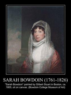 Sarah Bowdoin <i>Bowdoin</i> Dearborn