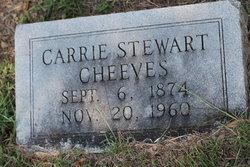Carrie <i>Stewart</i> Cheeves