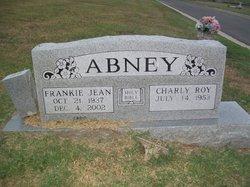 Frankie Jean <i>Clampitt</i> Abney
