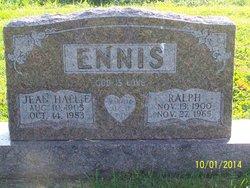 Jean Hallie <i>Weddle</i> Ennis