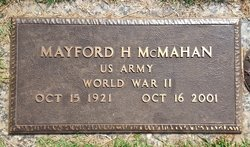 Mayford Harold McMahan