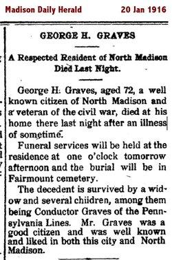 George H Graves