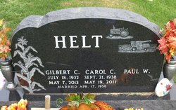 Carol Catherine <i>Rauls</i> Helt