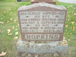 Hannah <i>Wideman</i> Hopkins