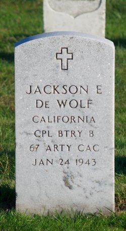 Jackson E DeWolf