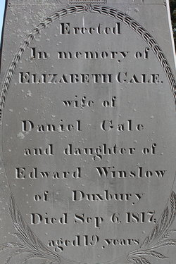 Elizabeth Betsey <i>Winslow</i> Gale