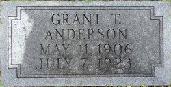 Grant T Anderson