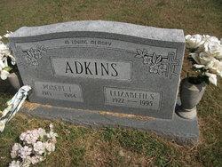 Elizabeth <i>Selby</i> Adkins