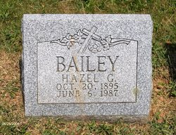 Hazel G Bailey